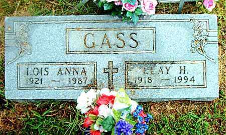 GASS, CLAY H. - Boone County, Arkansas | CLAY H. GASS - Arkansas Gravestone Photos