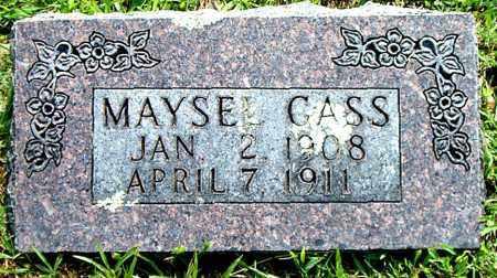 GASS, MAYSEL - Boone County, Arkansas   MAYSEL GASS - Arkansas Gravestone Photos