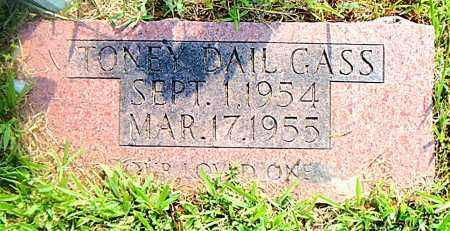 GASS, TONEY DAIL - Boone County, Arkansas | TONEY DAIL GASS - Arkansas Gravestone Photos
