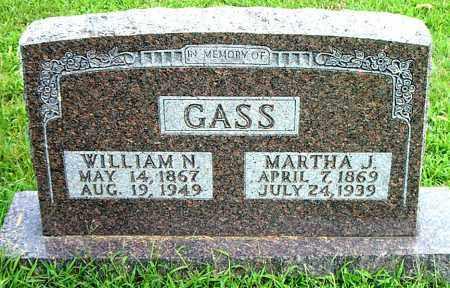 GASS, WILLIAM NEWTON - Boone County, Arkansas | WILLIAM NEWTON GASS - Arkansas Gravestone Photos