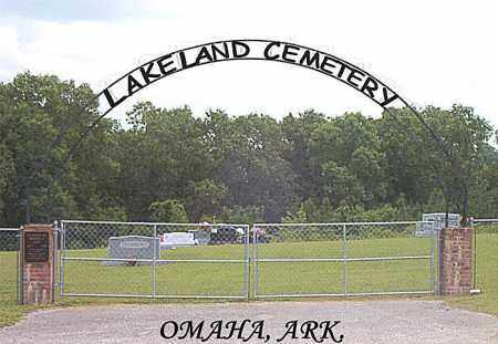 *LAKELAND CEMETERY GATE,  - Boone County, Arkansas    *LAKELAND CEMETERY GATE - Arkansas Gravestone Photos