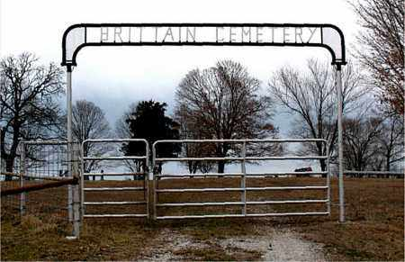 *BRITTAIN CEMETERY GATE,  - Boone County, Arkansas |  *BRITTAIN CEMETERY GATE - Arkansas Gravestone Photos