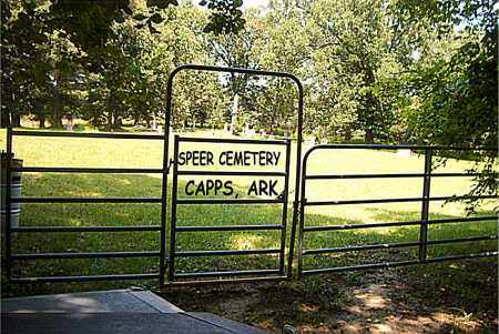 *SPEER CEMETERY GATE,  - Boone County, Arkansas |  *SPEER CEMETERY GATE - Arkansas Gravestone Photos