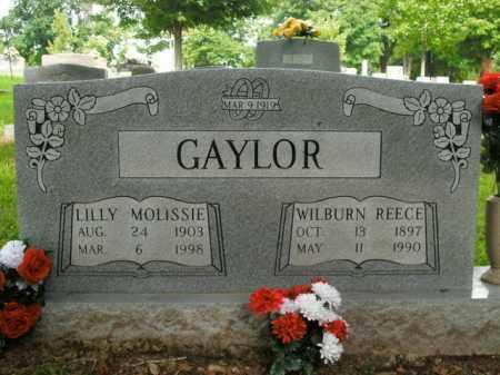 GAYLOR, WILBURN REECE - Boone County, Arkansas | WILBURN REECE GAYLOR - Arkansas Gravestone Photos