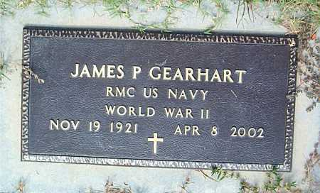 GEARHART  (VETERAN WWII), JAMES P - Boone County, Arkansas | JAMES P GEARHART  (VETERAN WWII) - Arkansas Gravestone Photos
