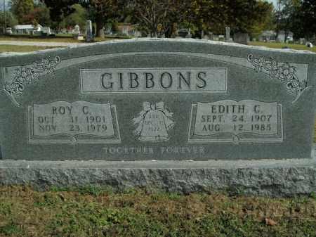 GIBBONS, ROY C. - Boone County, Arkansas   ROY C. GIBBONS - Arkansas Gravestone Photos