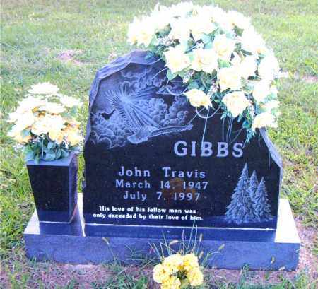 GIBBS, JOHN TRAVIS - Boone County, Arkansas   JOHN TRAVIS GIBBS - Arkansas Gravestone Photos