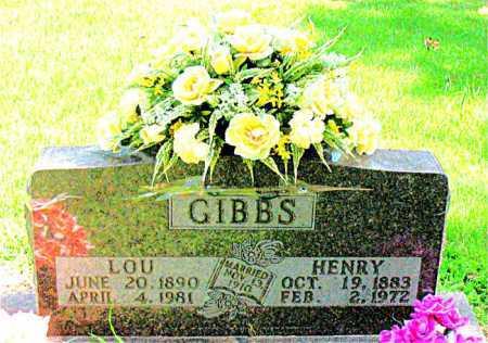 CONNER GIBBS, LOU - Boone County, Arkansas | LOU CONNER GIBBS - Arkansas Gravestone Photos