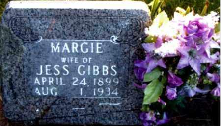 GIBBS, MARGIE - Boone County, Arkansas | MARGIE GIBBS - Arkansas Gravestone Photos