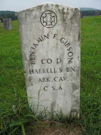 GIBSON  (VETERAN CSA), BENJAMIN F - Boone County, Arkansas | BENJAMIN F GIBSON  (VETERAN CSA) - Arkansas Gravestone Photos