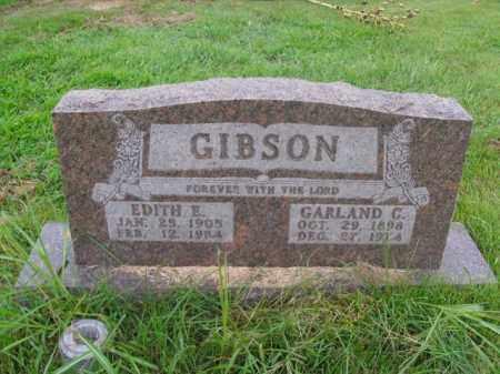 GIBSON, EDITH E. - Boone County, Arkansas | EDITH E. GIBSON - Arkansas Gravestone Photos