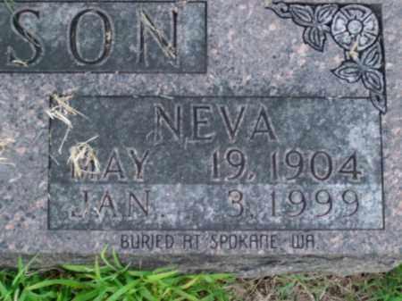 GIBSON, NEVA - Boone County, Arkansas   NEVA GIBSON - Arkansas Gravestone Photos