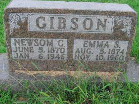 GIBSON, EMMA S. - Boone County, Arkansas   EMMA S. GIBSON - Arkansas Gravestone Photos