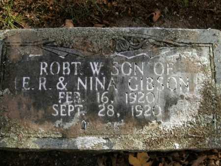 GIBSON, ROBERT W. - Boone County, Arkansas | ROBERT W. GIBSON - Arkansas Gravestone Photos