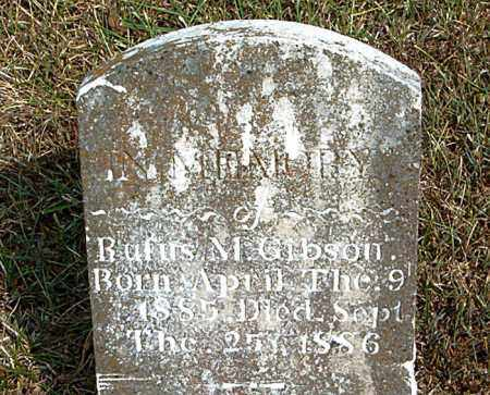 GIBSON, RUFUS  M. - Boone County, Arkansas | RUFUS  M. GIBSON - Arkansas Gravestone Photos