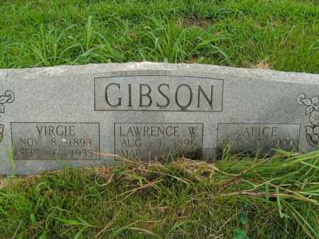 DANIEL GIBSON, ALICE - Boone County, Arkansas | ALICE DANIEL GIBSON - Arkansas Gravestone Photos