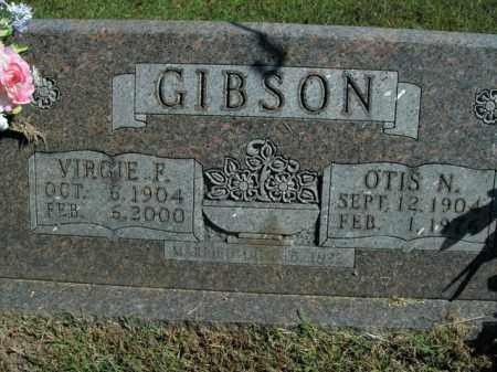 GIBSON, VIRGIE F. - Boone County, Arkansas | VIRGIE F. GIBSON - Arkansas Gravestone Photos