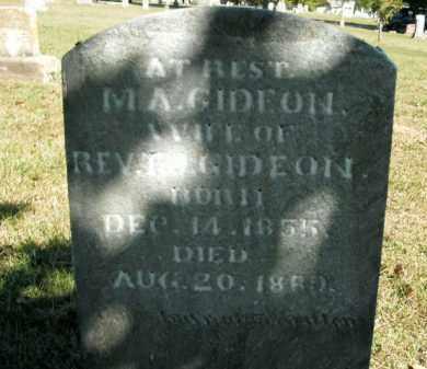 GIDEON, M.A. - Boone County, Arkansas | M.A. GIDEON - Arkansas Gravestone Photos