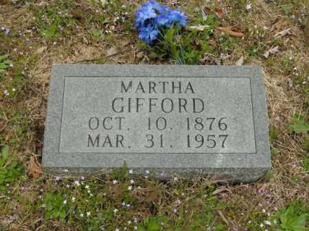 GIFFORD, MARTHA - Boone County, Arkansas | MARTHA GIFFORD - Arkansas Gravestone Photos