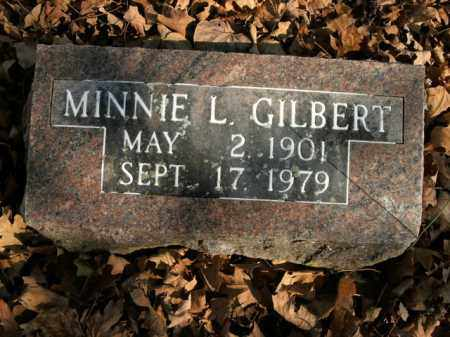 GILBERT, MINNIE L. - Boone County, Arkansas | MINNIE L. GILBERT - Arkansas Gravestone Photos