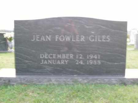 GILES, JACQUELYN JEAN - Boone County, Arkansas | JACQUELYN JEAN GILES - Arkansas Gravestone Photos