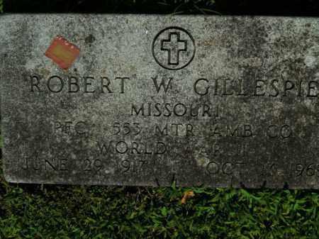 GILLESPIE  (VETERAN WWII), ROBERT W. - Boone County, Arkansas | ROBERT W. GILLESPIE  (VETERAN WWII) - Arkansas Gravestone Photos
