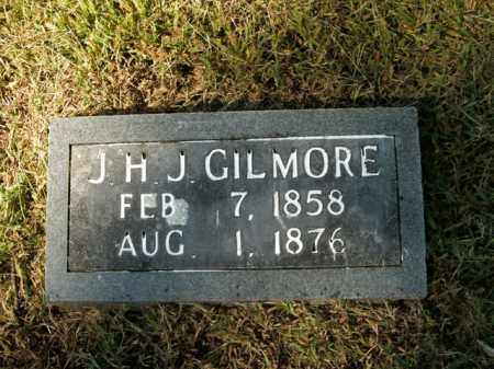 GILMORE, J.H.J. - Boone County, Arkansas   J.H.J. GILMORE - Arkansas Gravestone Photos