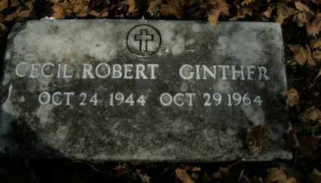 GINTHER, CECIL ROBERT - Boone County, Arkansas | CECIL ROBERT GINTHER - Arkansas Gravestone Photos