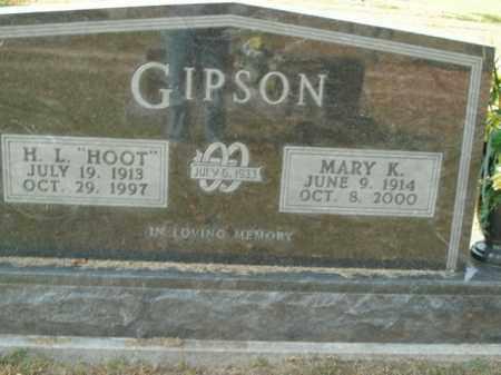 GIPSON, MARY K. - Boone County, Arkansas | MARY K. GIPSON - Arkansas Gravestone Photos