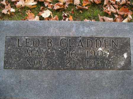 GLADDEN, LEO B. - Boone County, Arkansas   LEO B. GLADDEN - Arkansas Gravestone Photos