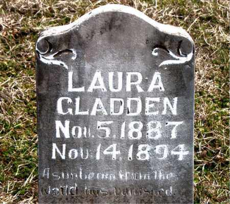 GLADDEN, LAURA - Boone County, Arkansas | LAURA GLADDEN - Arkansas Gravestone Photos