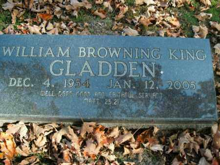 GLADDEN, WILIAM BROWNING KING - Boone County, Arkansas | WILIAM BROWNING KING GLADDEN - Arkansas Gravestone Photos