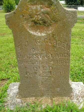 GLADEN, E.J.G. - Boone County, Arkansas | E.J.G. GLADEN - Arkansas Gravestone Photos