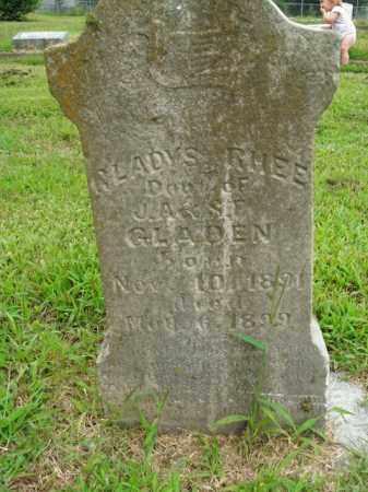 GLADEN, GLADYS RHEE - Boone County, Arkansas | GLADYS RHEE GLADEN - Arkansas Gravestone Photos
