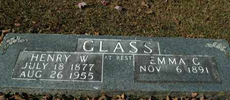 GLASS, HENRY W. - Boone County, Arkansas   HENRY W. GLASS - Arkansas Gravestone Photos