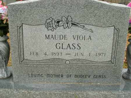 GLASS, MAUDE VIOLA - Boone County, Arkansas | MAUDE VIOLA GLASS - Arkansas Gravestone Photos