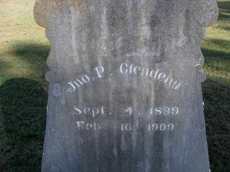 GLENDENIN, JNO. P. - Boone County, Arkansas | JNO. P. GLENDENIN - Arkansas Gravestone Photos