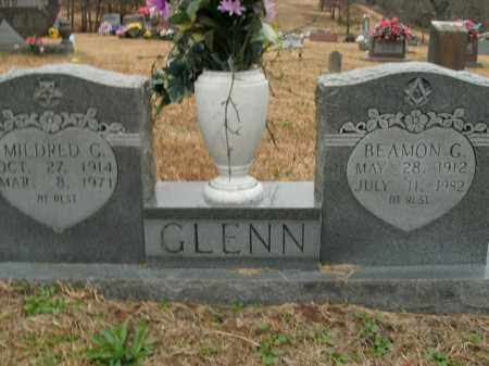 GLENN  (VETERAN WWII), BEAMON G - Boone County, Arkansas   BEAMON G GLENN  (VETERAN WWII) - Arkansas Gravestone Photos