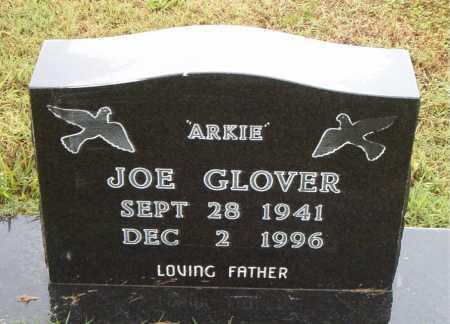 GLOVER, JOE (ARKIE) - Boone County, Arkansas   JOE (ARKIE) GLOVER - Arkansas Gravestone Photos
