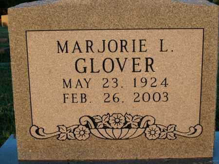 GLOVER, MARJORIE L. - Boone County, Arkansas | MARJORIE L. GLOVER - Arkansas Gravestone Photos