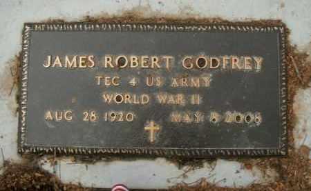 GODFREY  (VETERAN WWII), JAMES ROBERT - Boone County, Arkansas | JAMES ROBERT GODFREY  (VETERAN WWII) - Arkansas Gravestone Photos