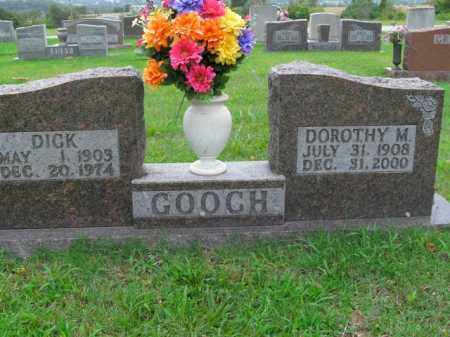 GOOCH, DICK - Boone County, Arkansas | DICK GOOCH - Arkansas Gravestone Photos