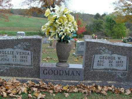 GOODMAN, MOLLIE VENIA - Boone County, Arkansas   MOLLIE VENIA GOODMAN - Arkansas Gravestone Photos