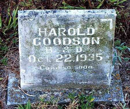 GOODSON, HAROLD - Boone County, Arkansas | HAROLD GOODSON - Arkansas Gravestone Photos