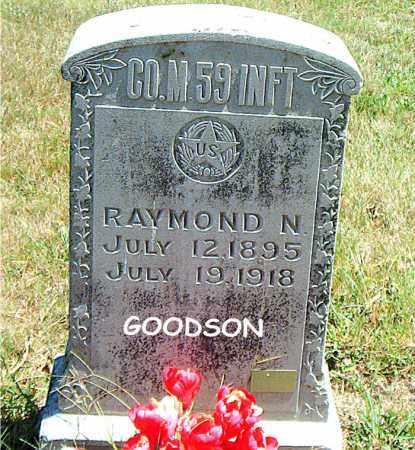 GOODSON  (VETERAN WWI), RAYMOND  N. - Boone County, Arkansas | RAYMOND  N. GOODSON  (VETERAN WWI) - Arkansas Gravestone Photos