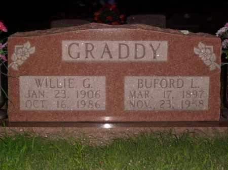 GRADDY, BUFORD L. - Boone County, Arkansas | BUFORD L. GRADDY - Arkansas Gravestone Photos