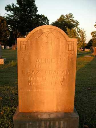 GRAHAM, ALICE N. - Boone County, Arkansas | ALICE N. GRAHAM - Arkansas Gravestone Photos