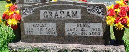 GRAHAM, BAILEY - Boone County, Arkansas | BAILEY GRAHAM - Arkansas Gravestone Photos