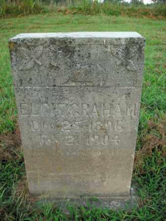 GRAHAM, ELCIE - Boone County, Arkansas | ELCIE GRAHAM - Arkansas Gravestone Photos