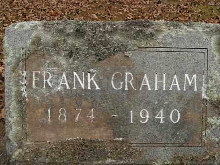 GRAHAM, FRANK - Boone County, Arkansas | FRANK GRAHAM - Arkansas Gravestone Photos